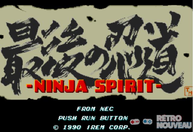 ninja spirit titre