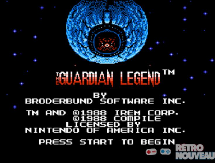 The Guardian Legend titre