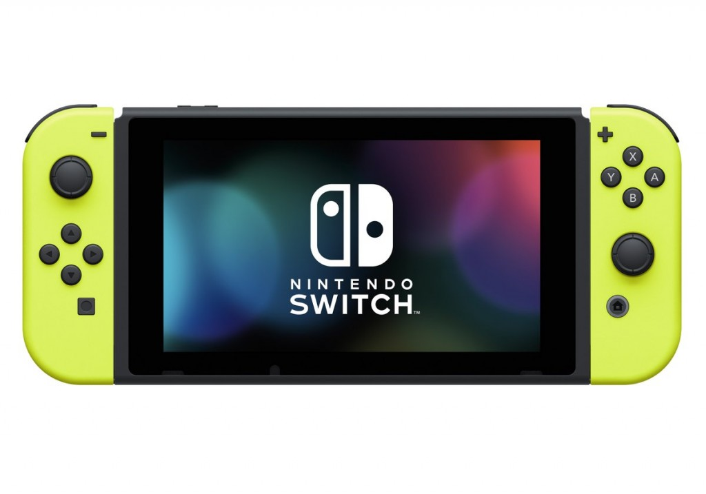 Nintendo Switch Joy-Con jaune néon