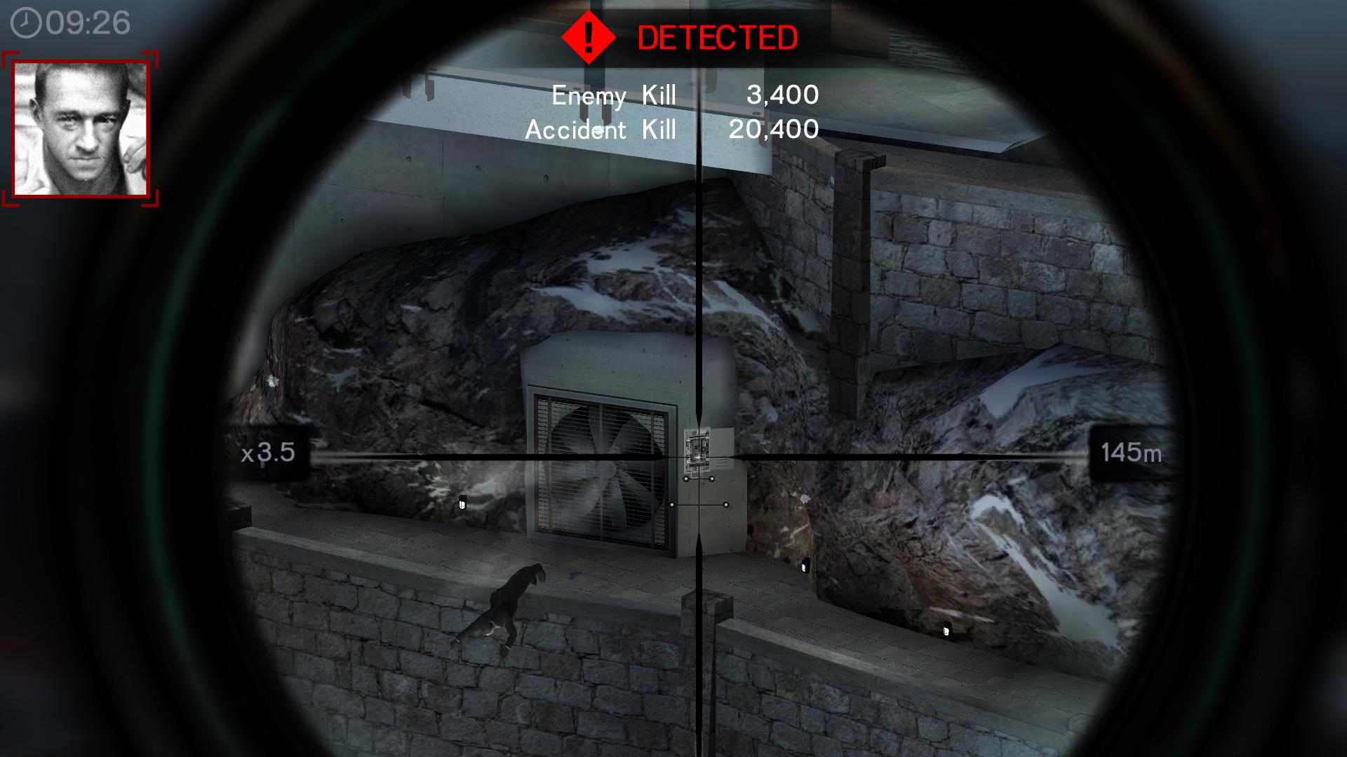 on hitman sniper fuse box explosion